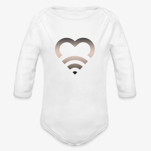 I Heart Wifi IPhone Case - Organic Long Sleeve Baby Bodysuit