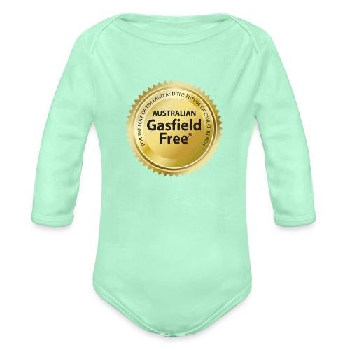 AGF Organic T Shirt - Traditional - Organic Long Sleeve Baby Bodysuit