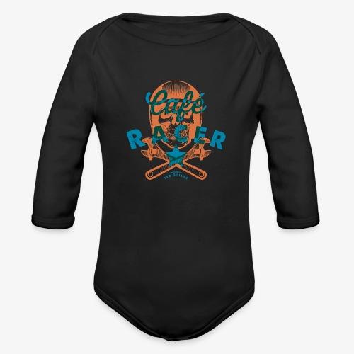 Café Racer - Organic Long Sleeve Baby Bodysuit