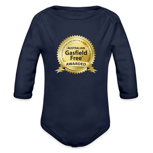 Supporters Collection - Organic Long Sleeve Baby Bodysuit