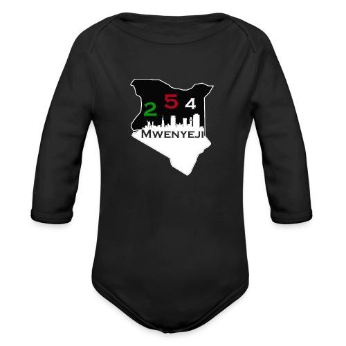 Mwenyeji Wa Kenya - Organic Long Sleeve Baby Bodysuit