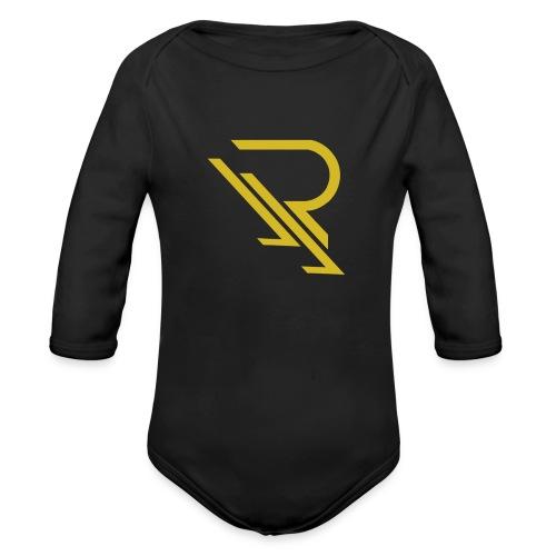 apparellogopnggold - Organic Long Sleeve Baby Bodysuit