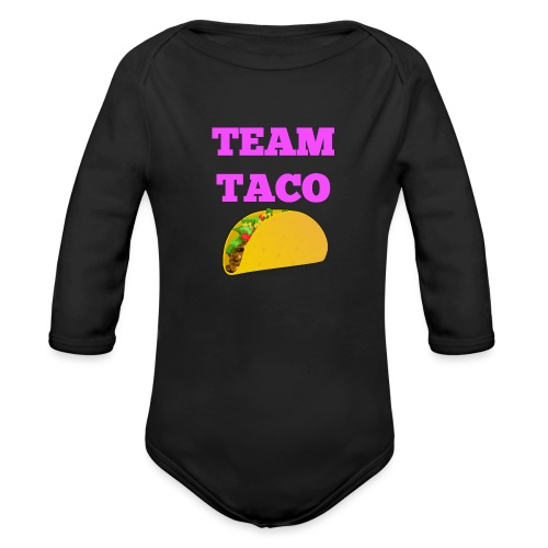 TEAMTACO - Organic Long Sleeve Baby Bodysuit