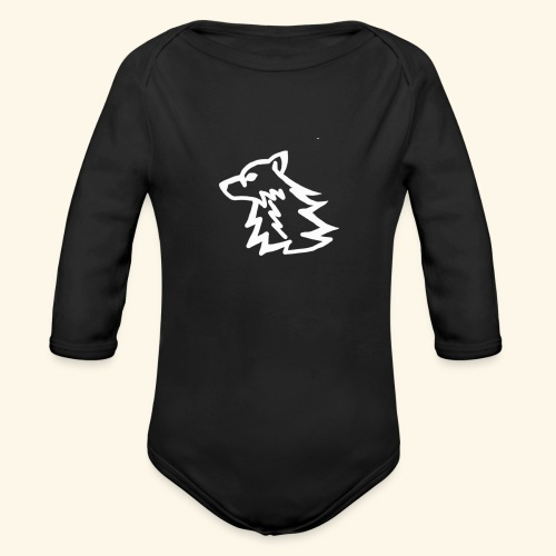 iFire Hoodie - Organic Long Sleeve Baby Bodysuit