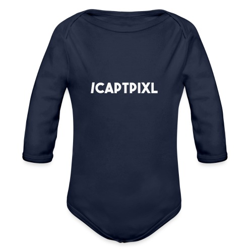My Social Media Shirt - Organic Long Sleeve Baby Bodysuit