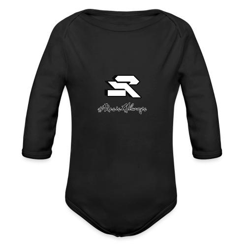 #ResistAlways Shirt - Organic Long Sleeve Baby Bodysuit