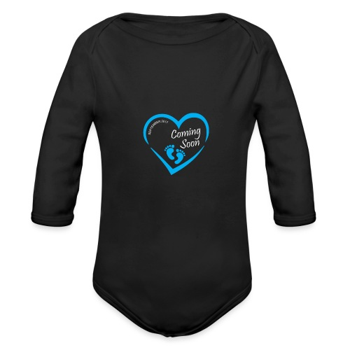 Baby coming soon - Organic Long Sleeve Baby Bodysuit