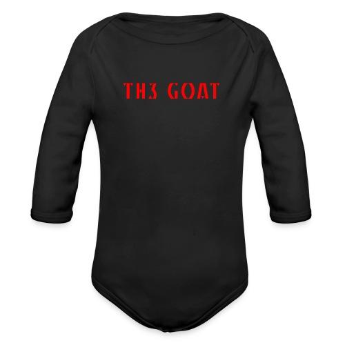 GREEK GOAT - Organic Long Sleeve Baby Bodysuit