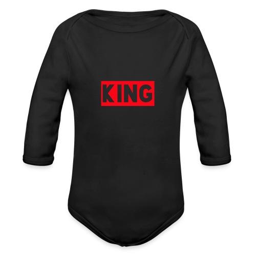 KingDefineShop - Organic Long Sleeve Baby Bodysuit
