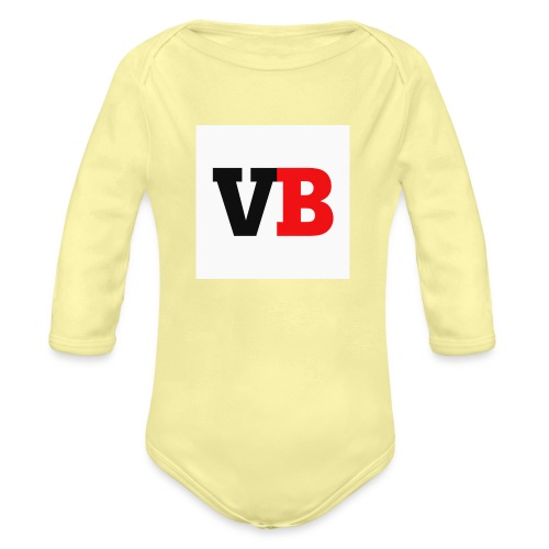 Vanzy boy - Organic Long Sleeve Baby Bodysuit