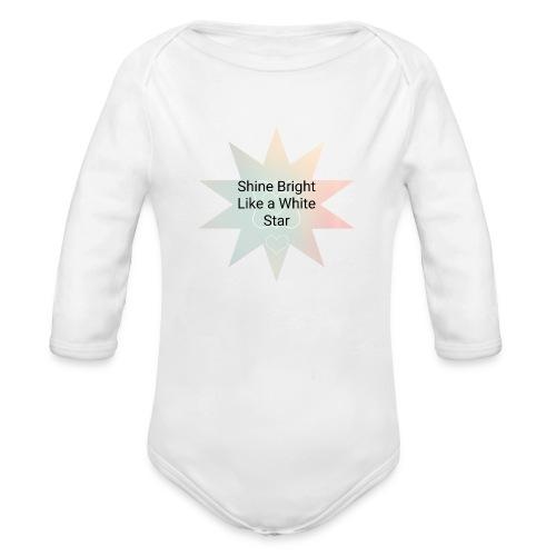 Photo 1514476838633 - Organic Long Sleeve Baby Bodysuit