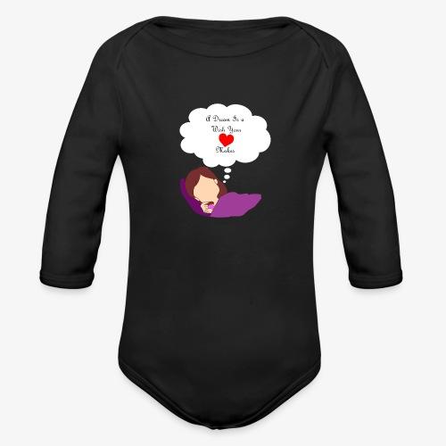 A Dream - Organic Long Sleeve Baby Bodysuit