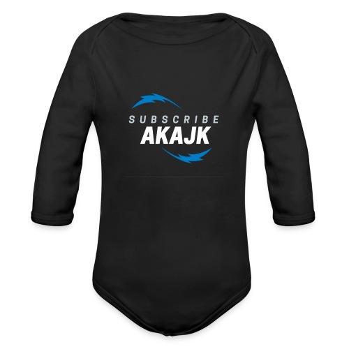 flash - Organic Long Sleeve Baby Bodysuit