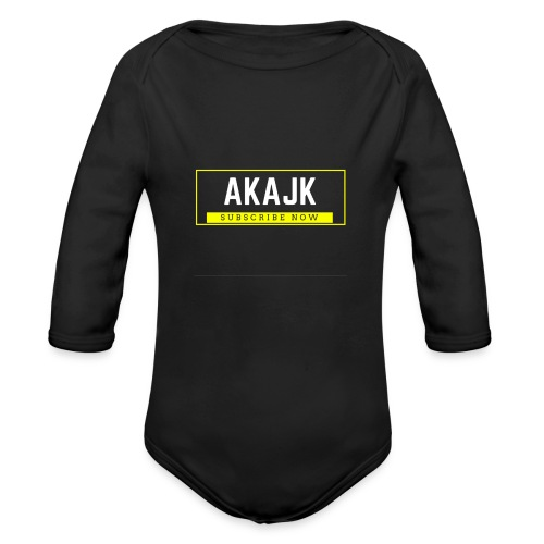 Subscribe Now!! - Organic Long Sleeve Baby Bodysuit
