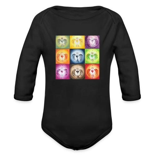 heartangel Mix - Organic Long Sleeve Baby Bodysuit