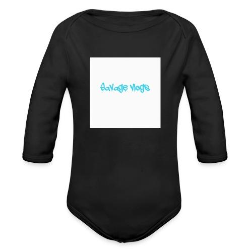BBE7B1B4 6044 42AF A152 48208328D2C8 - Organic Long Sleeve Baby Bodysuit
