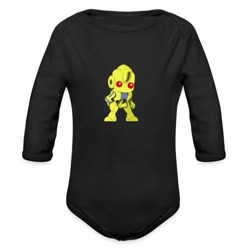Ex17 Moringa - Organic Long Sleeve Baby Bodysuit