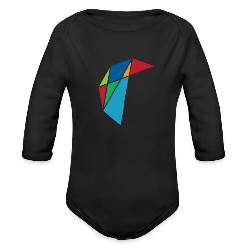 GLARE Logo - Organic Long Sleeve Baby Bodysuit