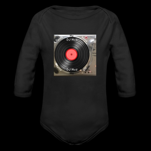 Spin me Round - Organic Long Sleeve Baby Bodysuit