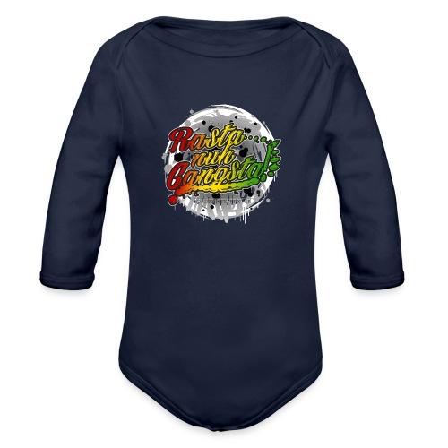 Rasta nuh Gangsta - Organic Long Sleeve Baby Bodysuit