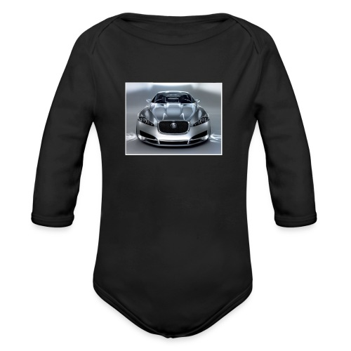 Jaguar XF - Organic Long Sleeve Baby Bodysuit
