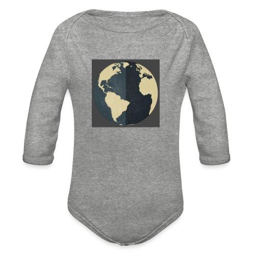 The world as one - Organic Long Sleeve Baby Bodysuit