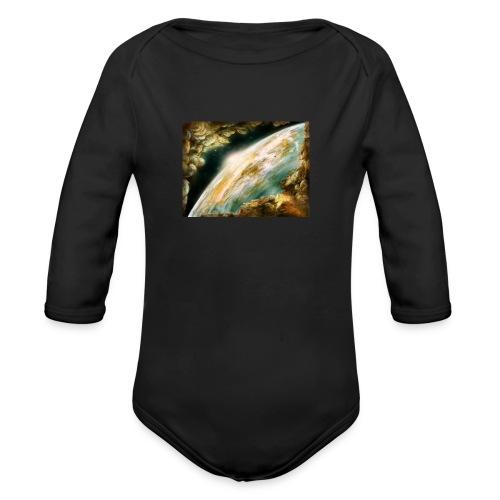 bgggggggggg - Organic Long Sleeve Baby Bodysuit