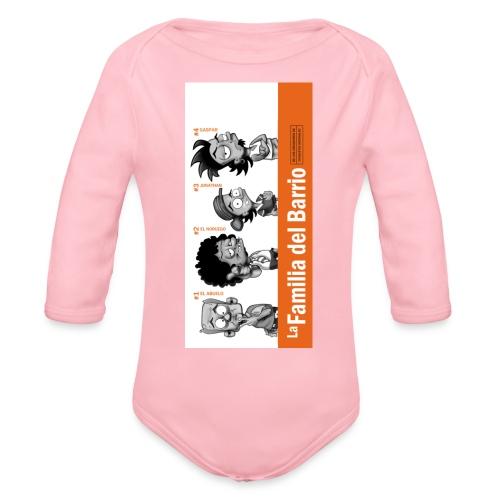 case1iphone5 - Organic Long Sleeve Baby Bodysuit