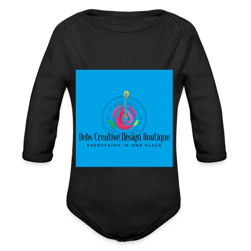 Debs Creative Design Boutique 1 - Organic Long Sleeve Baby Bodysuit