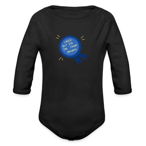 Regret - Organic Long Sleeve Baby Bodysuit