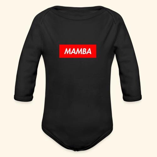 Supreme Mamba - Organic Long Sleeve Baby Bodysuit