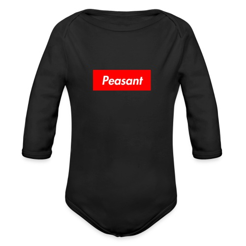 peasant - Organic Long Sleeve Baby Bodysuit