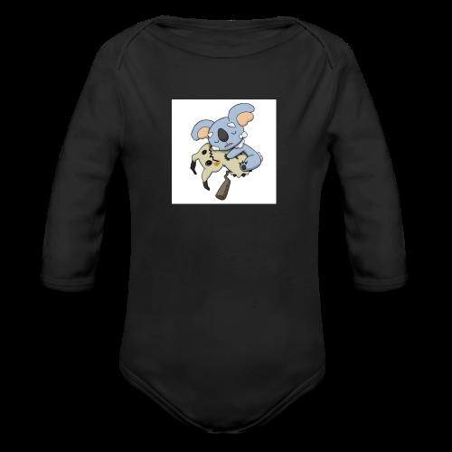 NeVeREnDiNg - Organic Long Sleeve Baby Bodysuit