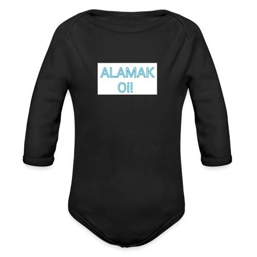 ALAMAK Oi! - Organic Long Sleeve Baby Bodysuit