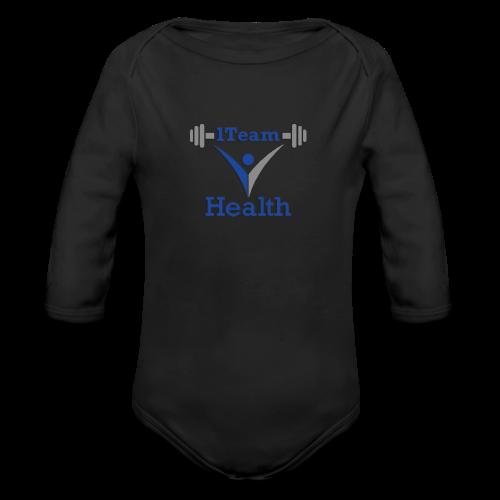1TeamHealth Member - Organic Long Sleeve Baby Bodysuit