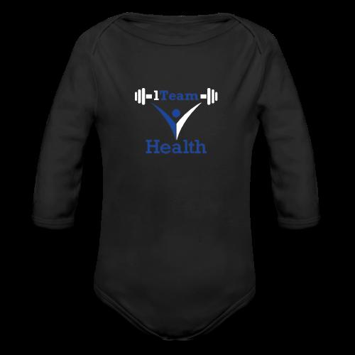 1TeamHealth - Organic Long Sleeve Baby Bodysuit