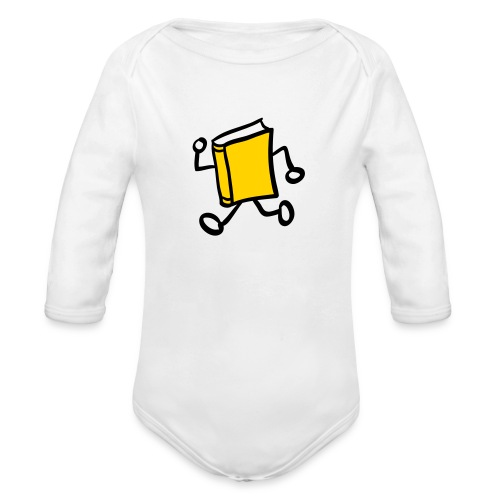 internal bally solo 3 colour - Organic Long Sleeve Baby Bodysuit