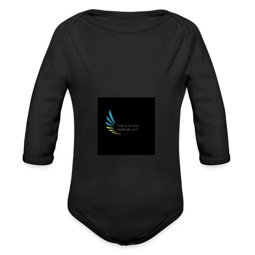 Regina Daggers 1 - Organic Long Sleeve Baby Bodysuit