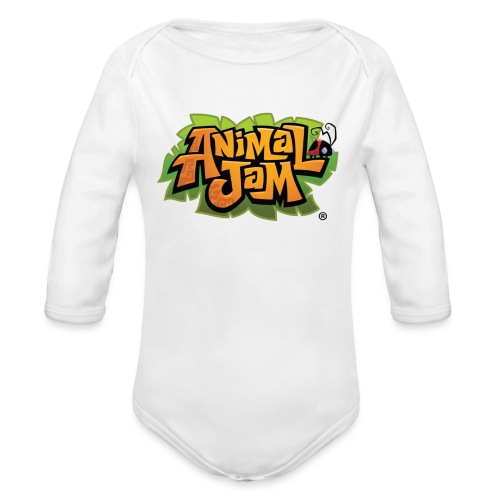 Animal Jam Shirt - Organic Long Sleeve Baby Bodysuit