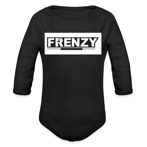 Frenzy - Organic Long Sleeve Baby Bodysuit