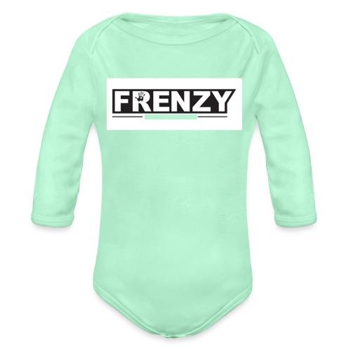 Frenzy - Organic Long Sleeve Baby Bodysuit