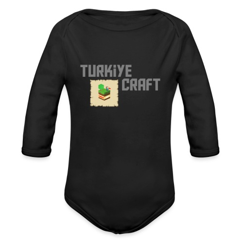 TurkiyeCraft Logo - Organic Long Sleeve Baby Bodysuit