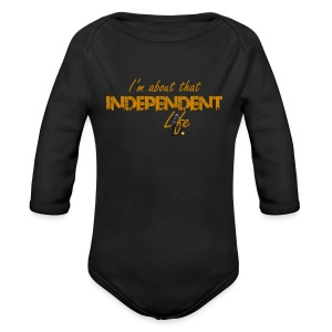 The Independent Life Gear - Long Sleeve Baby Bodysuit