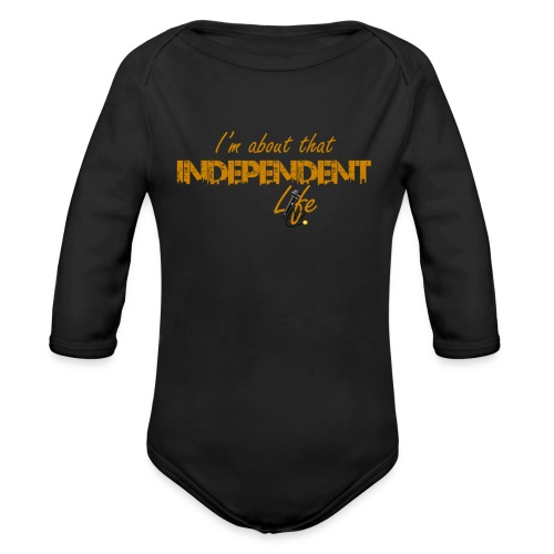 The Independent Life Gear - Organic Long Sleeve Baby Bodysuit