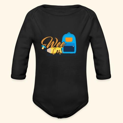 Wee Care - Organic Long Sleeve Baby Bodysuit