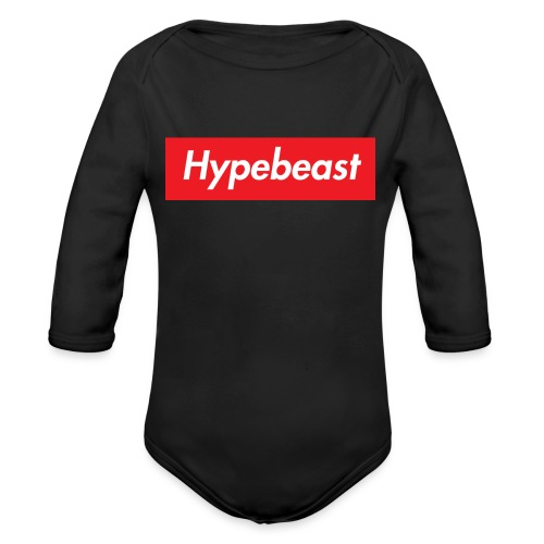 HYPEBEAST - Organic Long Sleeve Baby Bodysuit