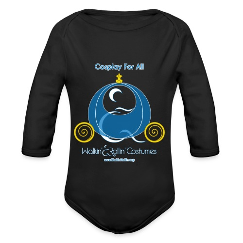 Cosplay For All: Cinderella - Organic Long Sleeve Baby Bodysuit