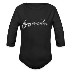 Turns & Choices - Long Sleeve Baby Bodysuit