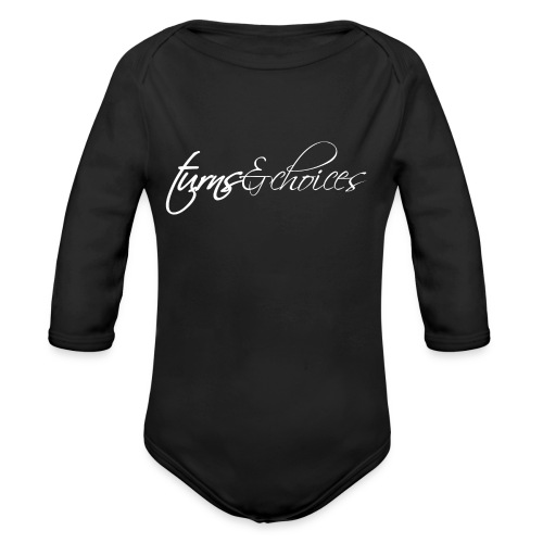 Turns & Choices - Organic Long Sleeve Baby Bodysuit