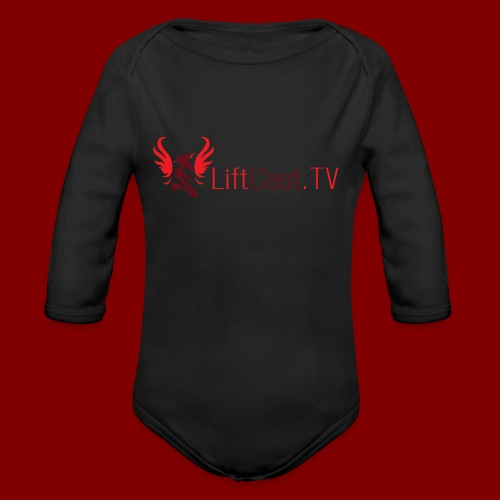 Horizontal for Light Clothing - Organic Long Sleeve Baby Bodysuit